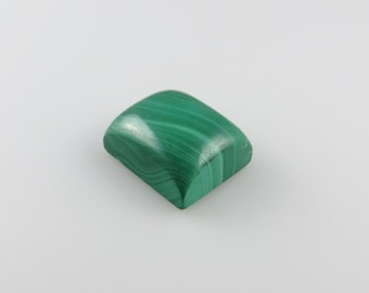Malachite - Rectangle Cabochon, 22.80 cts - 13x16 (M214)