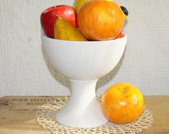 Vintage composition paper-mâché  fruit Lacquer finish