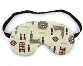 Linen London Sleep Eye Mask, Sleeping Mask, Travel Mask, Eye Mask, Sleep Mask