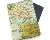 World Map Passport Cover, Passport Holder, Passport Wallet, Passport Case, Travel Gift