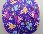 Youth/Junior Bib, Special Needs, Cerebral Palsy, Epilepsy, Retts Syndrome 14-inch/35cm  neck opening:  My Little Pony 2