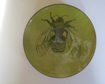 Enamel bee bowl