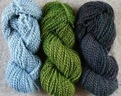 Middlefield set for Medio (or anything!) includes: Three 200yd skeins