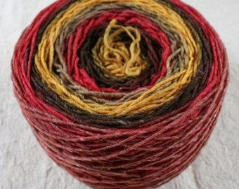 Rifton Spun to Stripe 600yds/549m ~6.5oz/184g USA wool Autumn