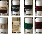 Instant Download: Crochet Pattern  - multiple styles of coffee cozies