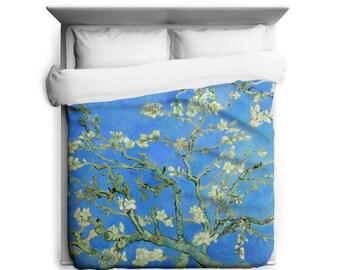 Almond Branches, Van Gogh Floral Duvet Cover