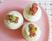SALE-Gingerbread Gumdrop Cupcake Bath Bomb--LAST ONE