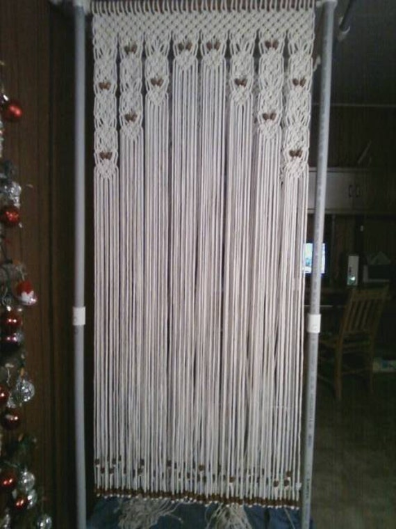 Wood Beaded Arch Door Decor Curtain Made In By Craftflaire