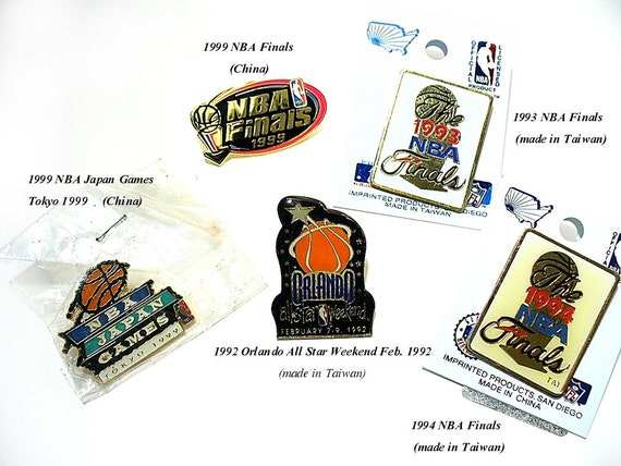 Basketball Pins Sports Collectibles NBA Pins Fathers Day