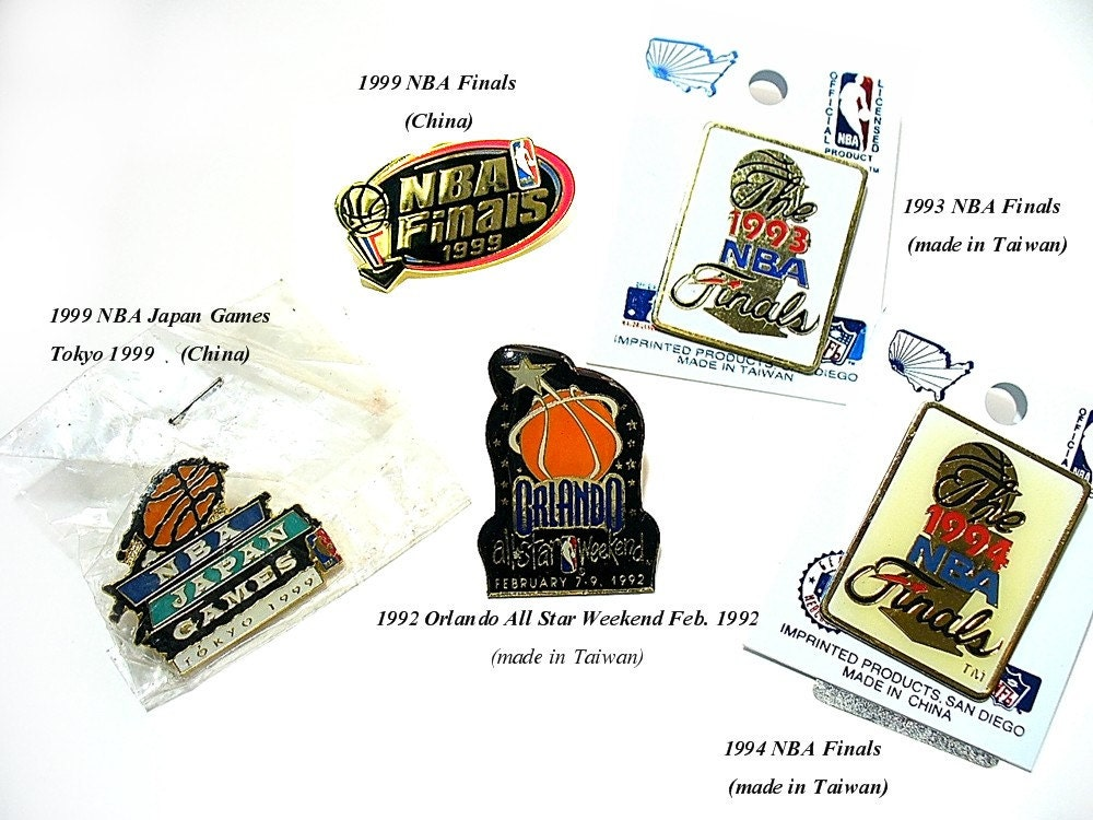 Pin By Hoopsvilla Com On Nba: Basketball NBA Basketball Pins 5 NBA Pin Vintage By Redhatlady