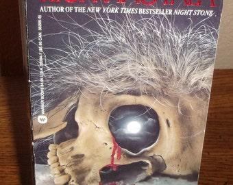 Winter Wake-Rick Hautala-Paperback Book-Horror Book-1st Warner Books Ed/1st Printing-1989