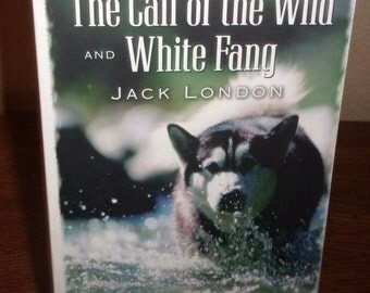 The Call of The Wild and White Fang Two Books In One-Jack London-Paperback Book-1995 Barnes and Noble