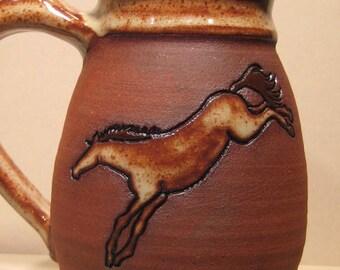Horse   Mug   ...................                       e873