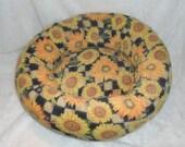 Sunflower Power Medium Dog Bed