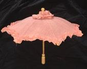 Vintage Doll Parasol