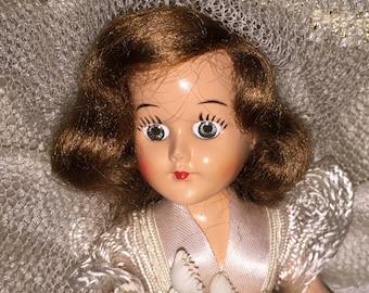 Vintage Royal Lady Bride Doll