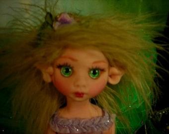 Fairy Fairies Fae pixie elf OOAK Fantasy Art Doll By Lori Schroeder 222KP