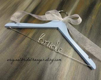 SALE 20% OFF Bride Wire Hangers Bridal Hangers Wedding Dress Hangers Bridal Accessories Bride Coat Hangers Personalized Hangers