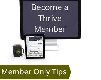 Etsy-preneurship Thrive Member - How To Be Successful on Etsy, Etsy Selling Tips, Successful Etsy Business Boost Etsy Sales Etsy Seller Tips