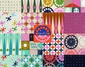 Complete Playful by Melody Miller - Fall 2014 Cotton and Steel Fabric  - Charm Square Pack of 16