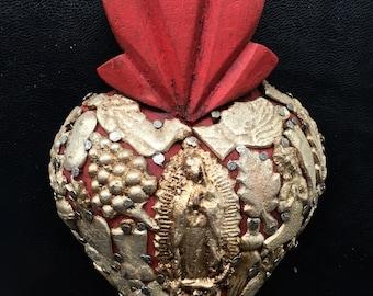 Vintage Milagro Hearts