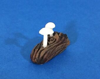 Glow-in-the-Dark White Mushrooms