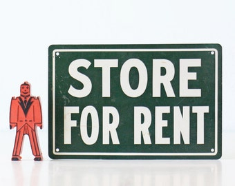 Vintage Sign, Store for Rent