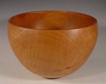 Texas Bradford Pear Wood Bowl Turned Wooden Bowl Art 6096