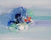 Art Print, Abstract Painting, Oil Painting, Fine Art Print , Giclee Print , Wall Art , Wall Décor , Ocean Sea Print 10x10 12x12 16x16 20x20
