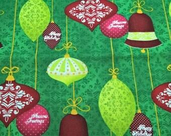 Christmas Ornaments - fat quarter cotton