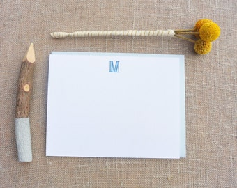 Letterpress Monogram Boxed Sets - The Clara - MNG-440