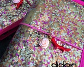 standard DIDORI hexagon confetti TRAVELER'S NOTEBOOK fauxdori