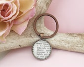 Dance Key Chain, Vintage Definition Dictionary Word Key Ring,  Gift for Dance Teacher or the Dancer in Your Life