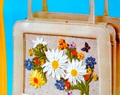 Flower Power Handbag Kit - Brand New from 1971