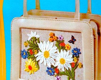 Flower Power Handbag Kit - Brand New from 1971