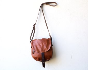 1903 CROSSBODY bag - tiny - waxed canvas and leather laptop bag with iPad pocket - lightweight travel bag