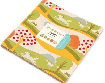 """Neco Moda Layer Cake, 42 - 10"""" precut fabric quilt squares by MoMo"""