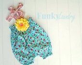 SALE Baby Romper Pattern Tutorial with shirring PDF babies through 4t INSTANT