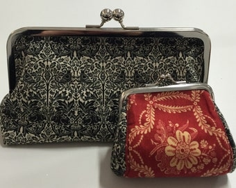 Clutch & Coin Purse Set