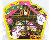 Halloween Flake Sticker (60 pieces) Amifa Flake Seals Sticker • Ghost Sticker • Jack-O-Lantern (37319)