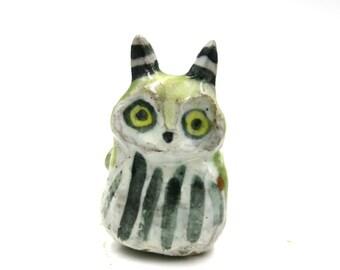 little green fairy owl