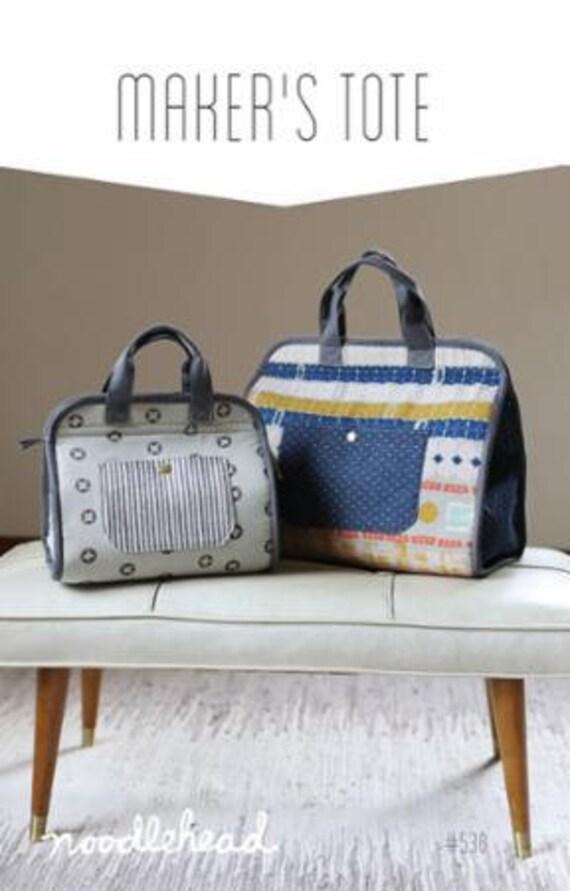 SALE Maker's Tote PATTERN by Noodlehead bag purse