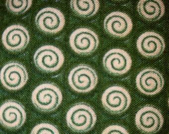 "Debbie Mumm ""Mumms The Word"" Green Christmas Coordinating Fabric"