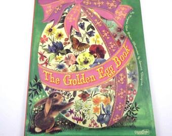 The Golden Egg Book Vintage Children's Book by Margaret Wise Brown