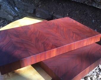 Mahogany Chopping Board
