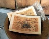 Glad Tidings - LIMITED EDITION Folk Art Notecards - from Notforgotten Farm™