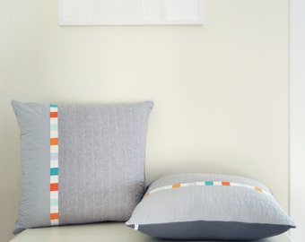 SUMMER SALE! Modern Linen Pillow Cover