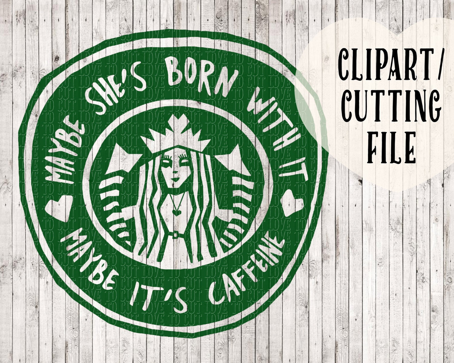 Starbucks Svg Coffee Svg Coffee Clipart Svg Files Svg