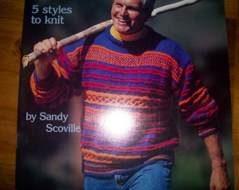 American School of Needlework -Two Knit Sweater instruction books