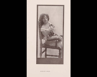 Burr McIntosh Monthly Magazine Print - Margaret Anglin, Stage Actress